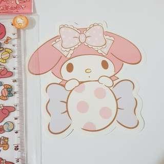 F. Sanrio Original My Melody Decoration Sticker