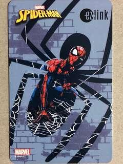 Limited edition brand new Marvel Spiderman Ezlink card for sale .