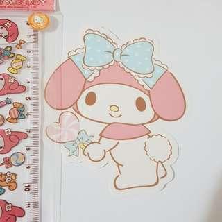 G. Sanrio Original My Melody Decoration Sticker