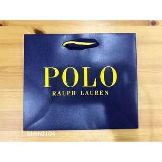 🚚 (全新正品) Polo Ralph Lauren 紙袋