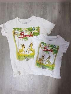 Bossini Mother and Daughter's tee