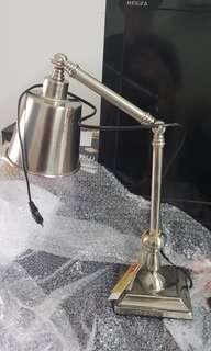 California Home DESK LAMP - Silver