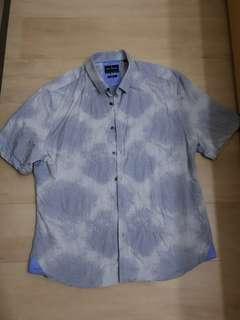 Daniel Hechter Ombre Print S/S Shirt