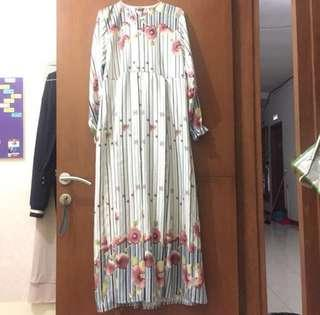 Gamis dress daily flower