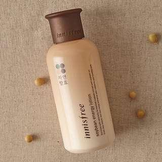 Innisfree Soybean Energy Lotion (160ml)- NEW
