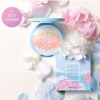 (NEW) Innisfree Limited Edition Jeju Color Picker Blooming Highlighter - 8.5g #under90