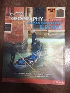 All about geography Human Geography elective Textbook
