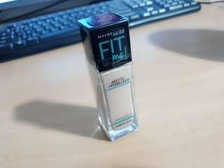 Maybelline fit me! Me matte poreless 120 classic ivory