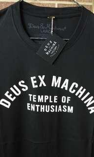 Kaos pria Deus ex machina (Black)