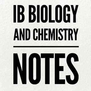 IB Biology Notes Chemistry HL Notes