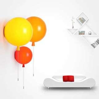 Colourful Ballons Wall lights for kids room