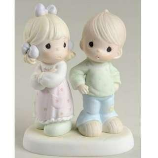 Precious Moments Figurine - Sometimes You Are Next To Impossible