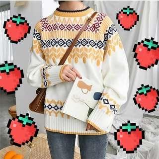 New Shara Tribal sweater