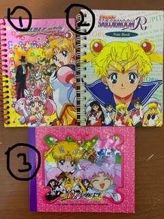 Sailormoon notebooks
