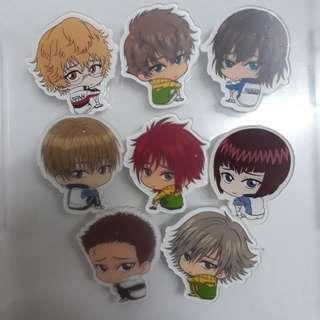 [Instock clearance] Prince Of Tennis Acrylic Badge