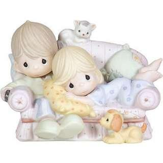 Precious Moments Figurine - Together Is The Nicest Place To Be