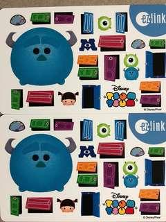 Brand new limited edition Disney Tsum Tsum design Ezlink card for sale .
