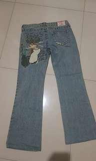 Celana Jeans True Religion ori 100%, kece. Uk 29