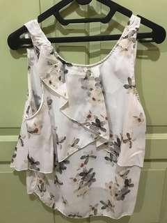 Preloved top floral