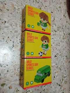 Milo sports day series nano block