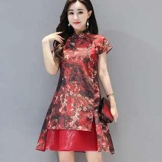 [CNY 2019 Collection] Pre Order [S - 3XL] Regular - Plus Size Cheongsam Dress