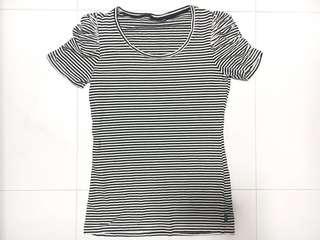 🚚 Black & White Stripes T-Shirt (PRICE REDUCED)