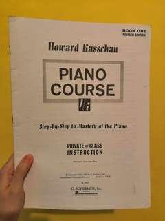 Howard Kasschau - Piano Course 琴譜