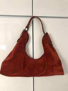furla 麂皮袋