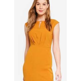Basic Pleated Waist Dress