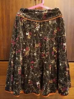 🚚 有秋天味道的花裙