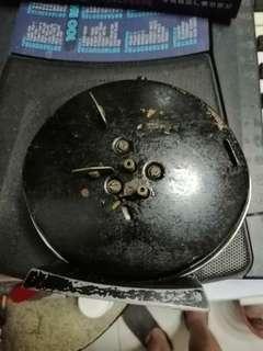 Old Scotland alarm clock