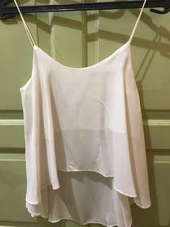 Prelovel tanktop in white