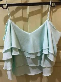 Preloved tanktop in mint