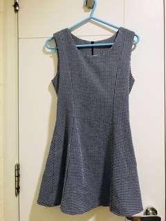 清衣櫃連身裙👗 系列 💙藍白💟格仔連身裙
