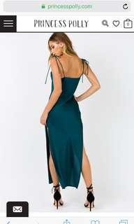 Princess Polly emerald dress