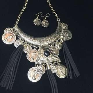 [FREE] Stylish Necklace And Earring Set (Nickle Free Lead Free)