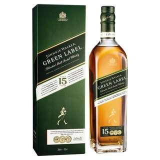 Johnnie Walker Green Label 15YO (70cl)