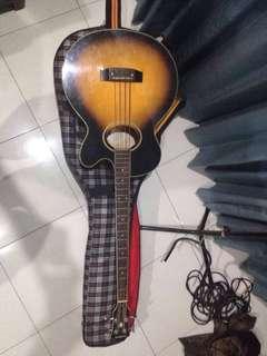 Epiphone El-Capitan Accoustic Bass