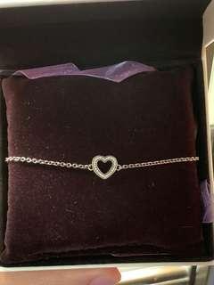 Pandora bracelet (heart shaped)