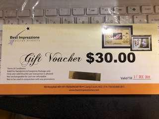 Best Imprezzione $30 voucher