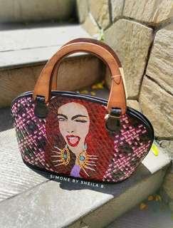 ANDREA Handpainted Native Bag