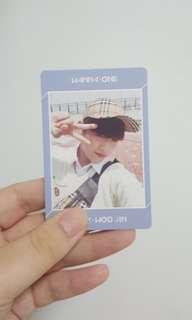 WTS Wanna One Triple Position Woojin pc