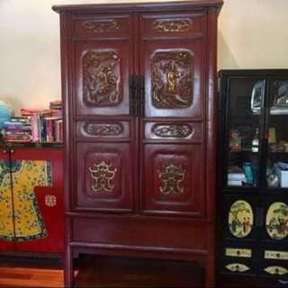 Vintage Huge Rosewood Cabinet