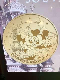 {法國代購}巴黎Disneyland🏰代購 【Mickey And Minnie Paris coins】 【米奇與米妮巴黎鐵塔金幣】