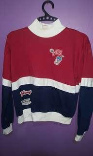 Croptop sweater