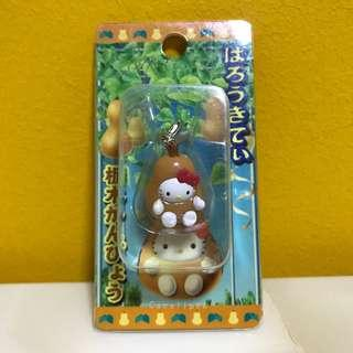 Hello Kitty in Pear Costume Charm