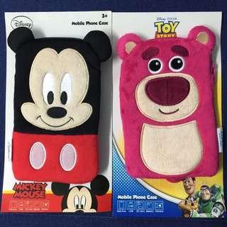 米奇老鼠 勞蘇 百達通套 電話袋