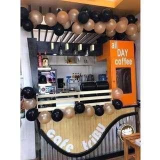 Cafe Tribu franchise food stall cafe business
