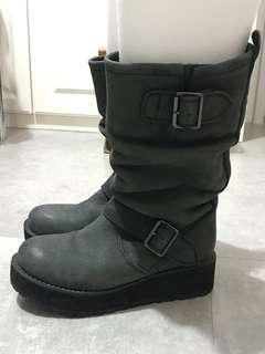Real leather boots 日本真皮靴