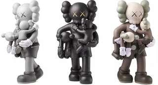 Kaws Clean Slate - Grey